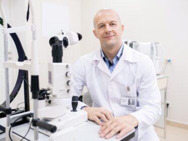 La consulta al oftalmólogo